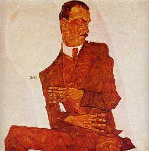 Portrait of the Art Critic, Arthur Roessler