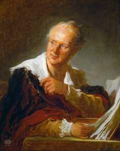 Portrait of Diderot
