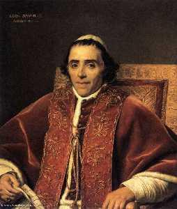 Portrait of Pope Pius VII