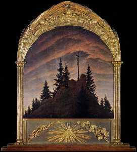 Cross in the Mountains (Tetschen Altar)
