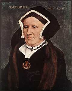 Portrait of Lady Margaret Butts