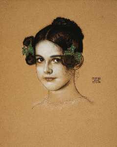 Portrait of Marie Stuck