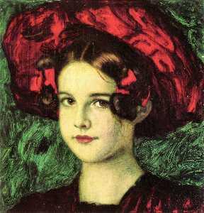 Portrait of Marie Stuck2