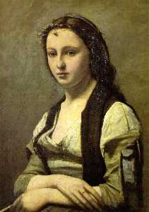женщина с жемчужиной