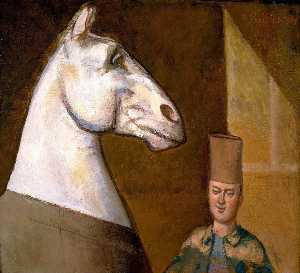 Moroccan Horseman and his Horse