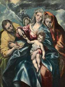Holy Family with Mary Magdalen