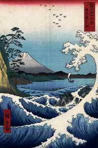 WikiOO.org - Enciclopedia of Fine Arts - Artist, Painter Ando Hiroshige