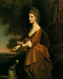 Portrait of a Girl in a Tawny-Colored Dress