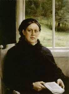 Picture of the mother of the artist