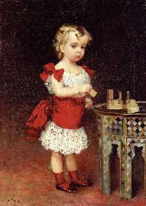 Portrait of Grand Duke Andrei Vladimirovich as a Child