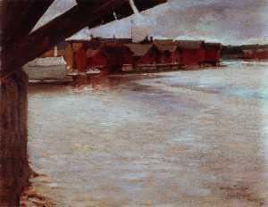 Riverside Motif from the Porvoo River