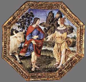 Wikioo.org - The Encyclopedia of Fine Arts - Artist, Painter  Bernardino Di Betto (Pintoricchio)