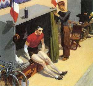 French Six Day Bicycle Racer