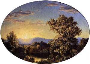 Twilight among the Mountains