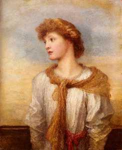 Portrait Of Miss Lilian Macintosh