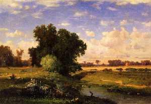 Hackensack Meadows, Sunset