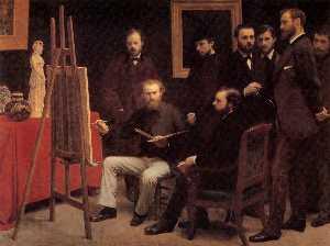 A Studio in the Batignolles