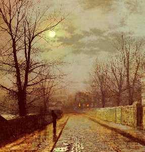 Lane In Cheshire