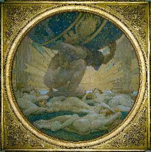 Atlas y el Hespérides