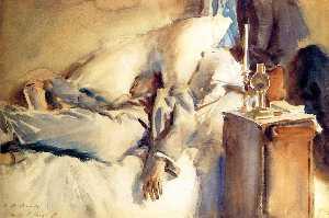 Peter Harrison Asleep