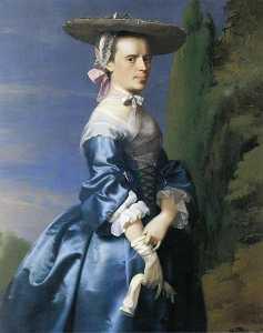 Mrs. Nathaniel Allen (Sarah Sargnet)