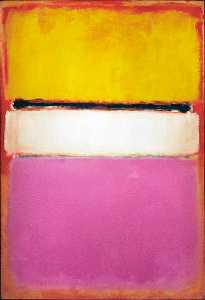 White Center - Mark Rothko (Marcus Rothkowitz)