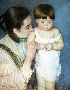 Young Thomas and His Mother