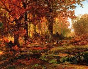 Cresheim Glen, Wissahickon, Autumn