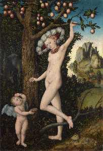 Cupid complaining to Venus.