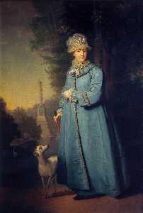 Portrait of Catherine II, Empress of Russia
