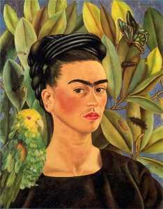 Self-Portrait with Bonito
