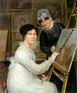 Self-Portrait with Mother