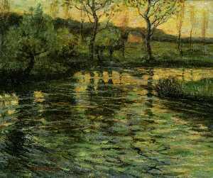 Conneticut River Scene