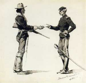 The Dispatch Bearer Troop B, United States Scouts
