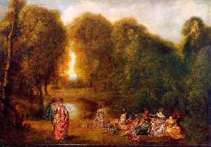 Gathering in a Park