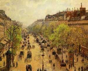 Boulevard Montmartre Frühling 1