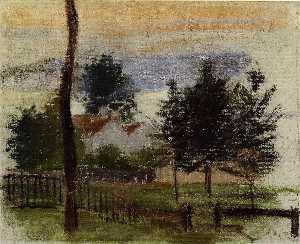 Landscape at Louveciennes 1