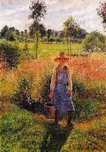 The Gardener, Afternoon Sun, Eragny