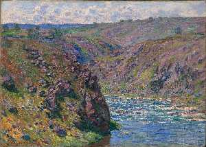 Valley of the Creuse, Sunlight Effect