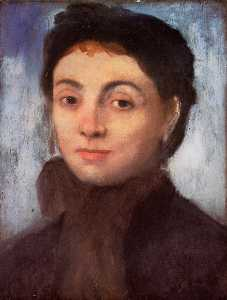 Study for the Portrait of Josephine Gaujean