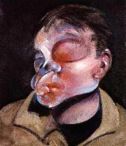 Self Portrait with Injured Eye