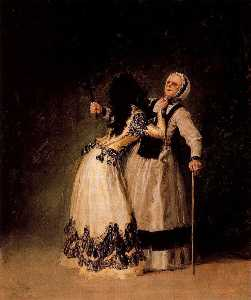 The Duchess of Alba and her mistress