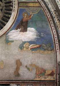 ascensione di cristo ( chiesa superiore , san francesco , Assisi )