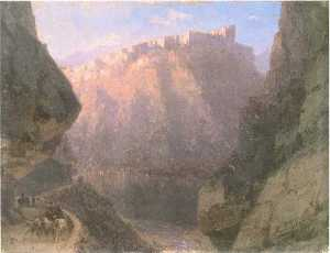 The Daryal canyon