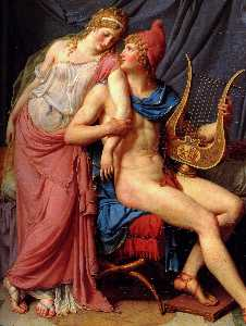 The Courtship of Paris and Helen [detail 1]