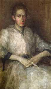 Portrait of Ellen Sturgis Hooper