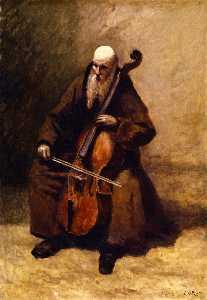 Monk with a Cello