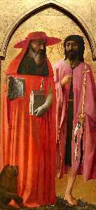 St Jerome and St John the Baptist