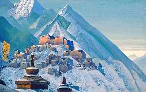 Tibet. Himalayas.