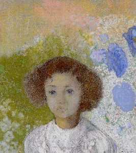 Portrait of Genevieve de Gonet as a Child